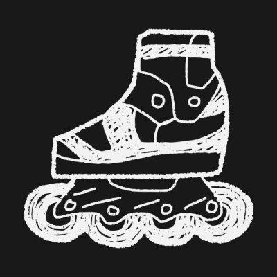 Bild Roller skate doodle