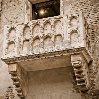 Romeo Und Julia Balkon In Verona Italien Leinwandbilder Bilder