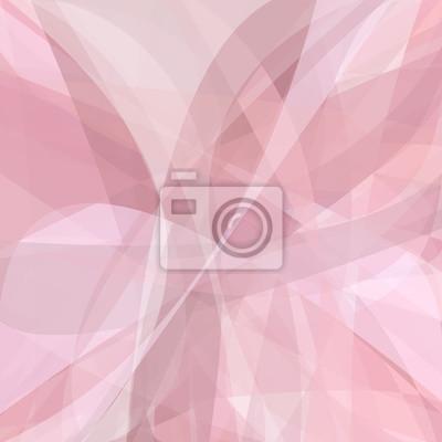 Rosa abstrakten Hintergrund aus dynamischen Kurven