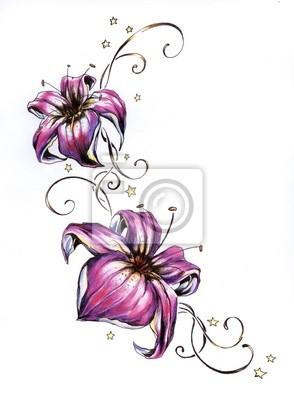Rosa flowers.My eigenes Kunstwerk.