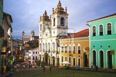 Rosario dos pretos Kirche in Salvador Bahia