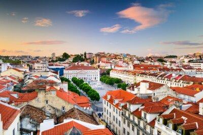 Bild Rossio Platz von Lissabon