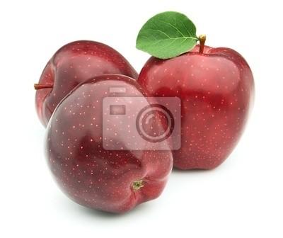 Bild rote Äpfel