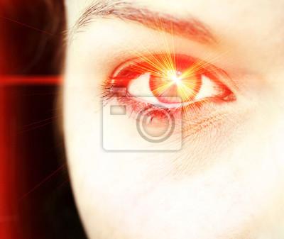 Rote-Augen-Laser