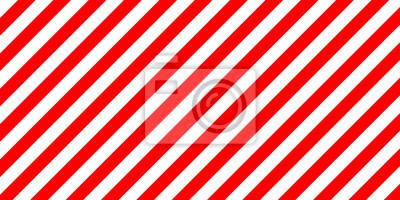 Bild Rote und weiße Streifen diagonal zu unterzeichnen, die Größe zu laden