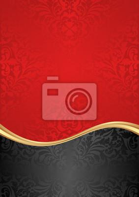 Bild roten Hintergrund
