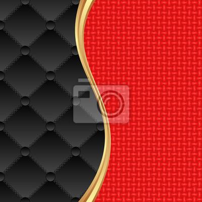 Bild roten und schwarzen Hintergrund