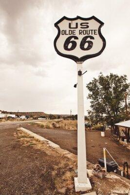 Bild Route 66 Zeichen
