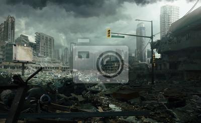 Bild Ruined Cityscape
