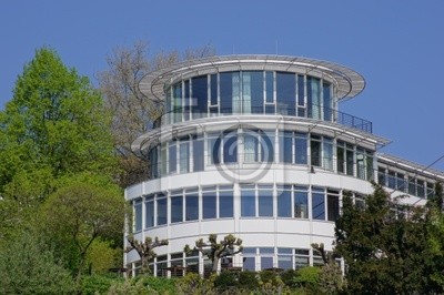 Rundes Haus Leinwandbilder Bilder Mehrfamilienhaus Hamburg