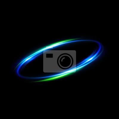 Bild Rundschreiben. Zusammenfassung Rotation Galaxie. Schöne Ellipse Grenze. Luxus glänzende Loch. Rotationslinien. Energieenergieelement. Platz für Nachricht. Zusammenfassung Ring Hintergrund.