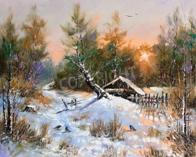 Bild Rural winter landscape