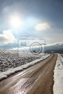 Rural Winter-Szene