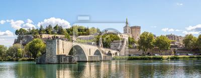 Bild Saint Benezet Brücke in Avignon