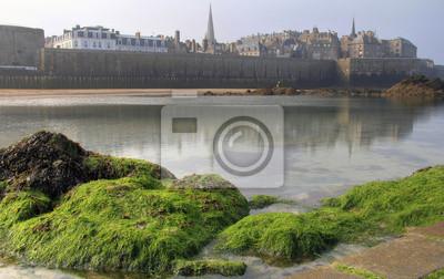 Saint Malo vom Strand