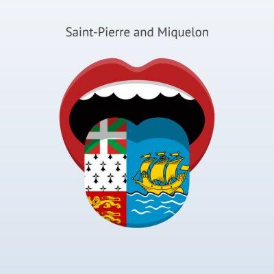 Saint-Pierre und Miquelon Sprache.