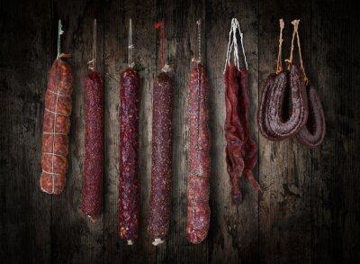 Bild salami sausages
