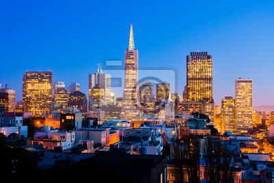 Bild San Francisco in der Nacht
