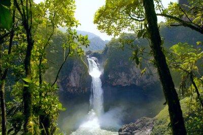 Bild San Rafael Falls. The Largest Waterfall in Ecuador