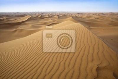 Sanddünen in der Sahara.