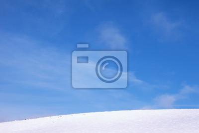 Saubere Winterlandschaft