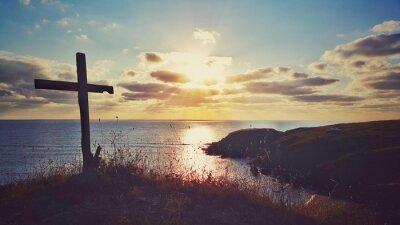 Bild Scenic Sonnenaufgang über der Küste, Bulgarien