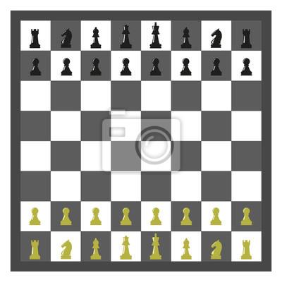 Bild Schachbrettvektorabbildung