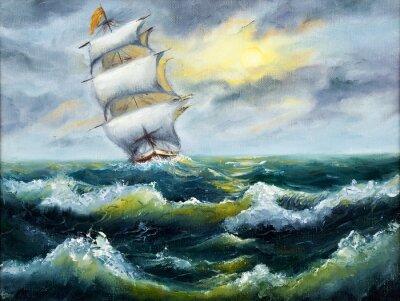 Bild Schiff im Ozean