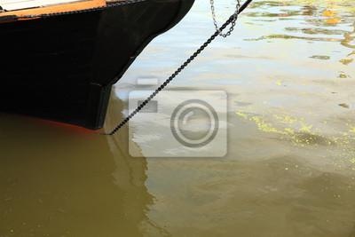 Bild Schiff Takelage auf alte Yacht