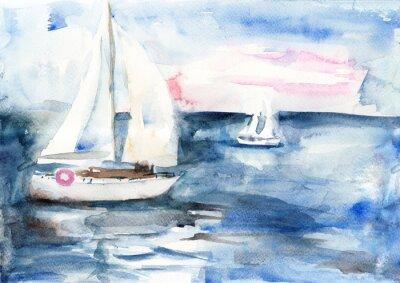 Bild Schiffe im Meer