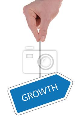"""Bild Schild """"Wachstum"""""""