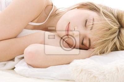 schlafende Mädchen