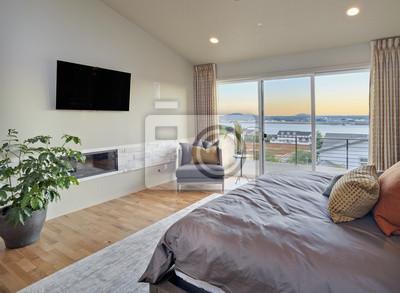 Bild Schlafzimmer in Luxus-Haus