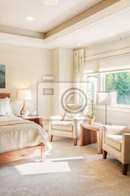 Bild Schlafzimmer in Luxus New Home