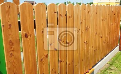 Schliessen Sie Oben Auf Holzernem Zaun Door Wood Zaun Holz Fechten