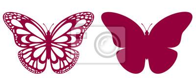 Bild Schmetterling zum Laserschneiden