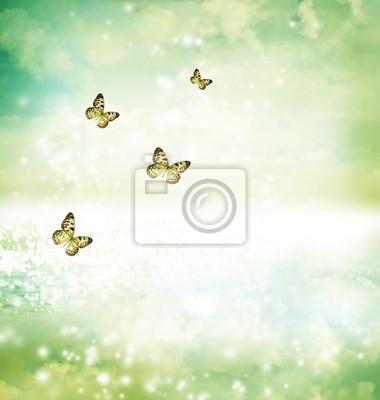 Schmetterlinge auf Fantasy See