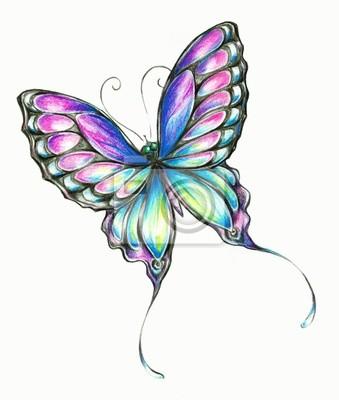 Schmetterlings-Buntstifte