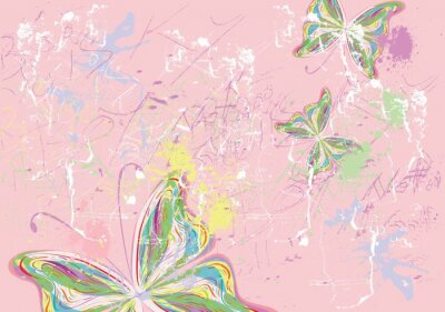 Bild Schmetterlingsfarben