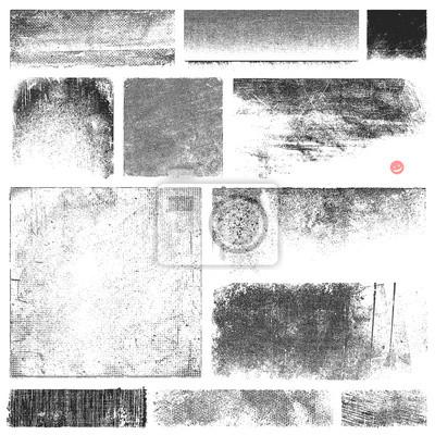 Bild Schmutzige Vector Textures