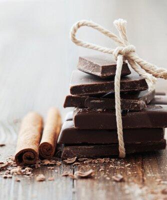 Bild Schokolade und Zimt