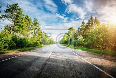 Bild Schöne Autobahnstraße