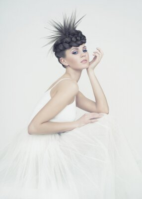 Bild Schöne Ballerina