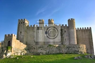 Schöne berühmten Schloss von Óbidos in Portugal