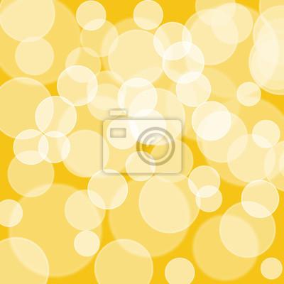 Schöne Bokeh mit goldfarbenem Hintergrund