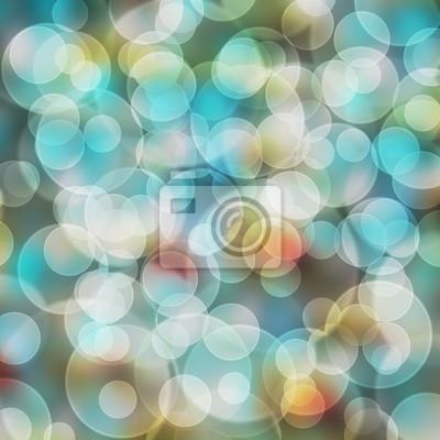 Schöne Farbe von Bokeh mit für Desktop-Hintergrund und Smartphone-Wallpaper