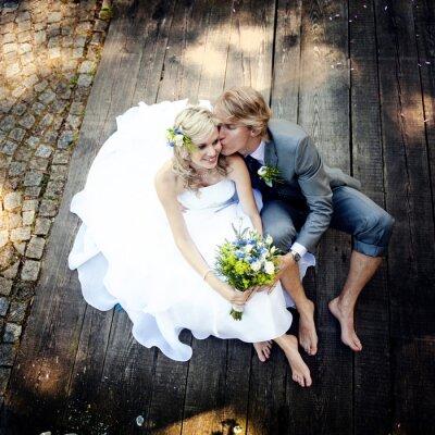 Bild Schöne Hochzeitspaar