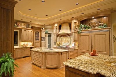 Bild Schöne Küche in Luxus zu Hause