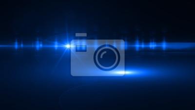 Bild Schöne Licht flackert. Glühende Streifen auf dunklem Hintergrund. Polizei leuchtet