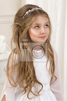 Mädchen für kommunion frisuren Frisuren Mädchen